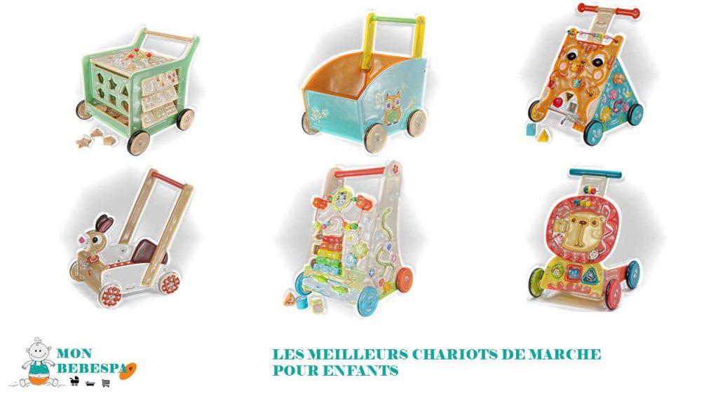 Les meilleurs chariots de marche pour enfants